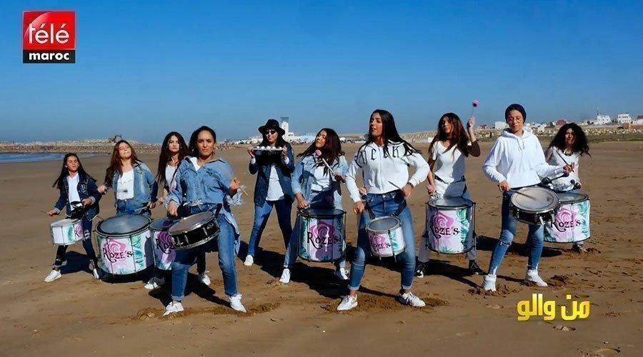 من والو: فرقة من الإناث استطعن صناعة الآلات الإيقاعية بأنفسهن