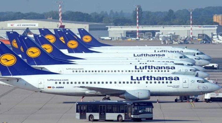 شركة الطيران الألمانية لوفتهانزا تحول ثلثي موظفيها إلى الدوام الجزئي