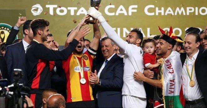 الترجي التونسي يحقق الفوز بلقب المسابقة على حساب الأهلي المصري