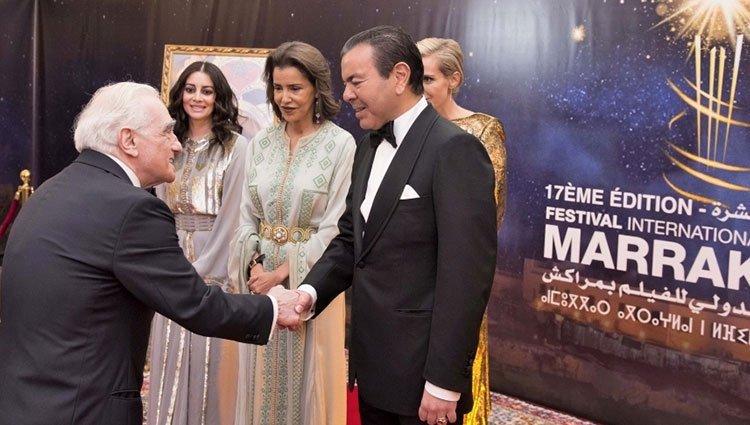 الأمير مولاي رشيد يترأس حفل عشاء أقامه الملك بمناسبة افتتاح المهرجان الدولي للفيلم