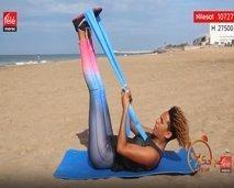 رياضة اليوم: حركات رياضية باستعمال الحبل المطاط