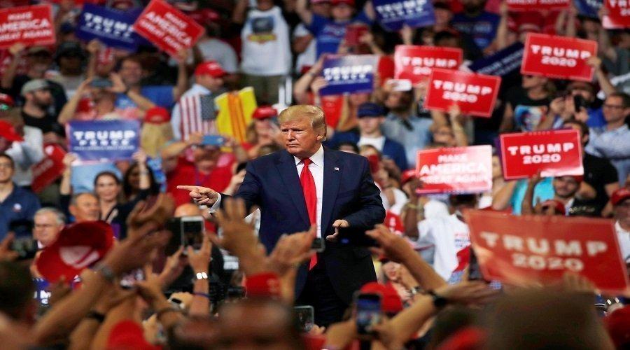 ترامب يطلق رسميا حملة إعادة انتخابه لولاية ثانية