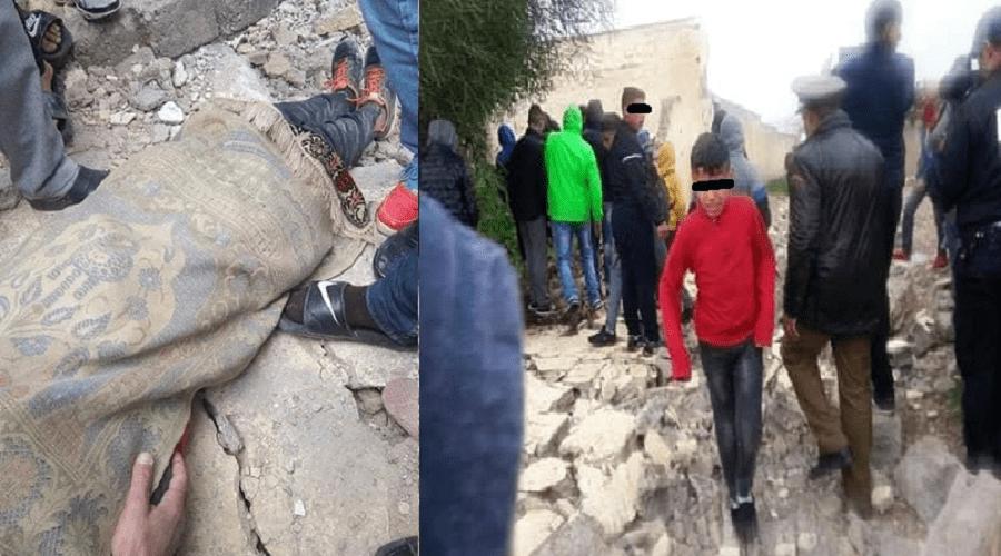 هذه تفاصيل وفاة تلميذين في حادث انهيار سور مدرسة بفاس