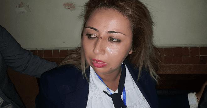 قضية بوعشرين.. المحامي حسبان يكسر أنف صحفية (صور)