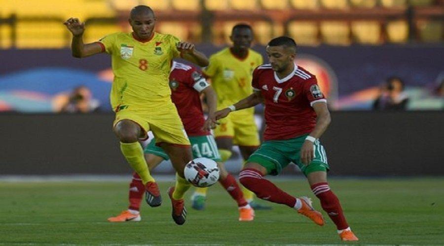 نهاية الشوط الأول بين المغرب وبنين بالتعادل السلبي