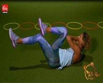 رياضة اليوم: حركات رياضية لشد عضلات البطن باستعمال الحبل
