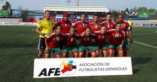 المنتخب الوطني لكرة القدم النسوية يتعادل مع فريق ليفانتي