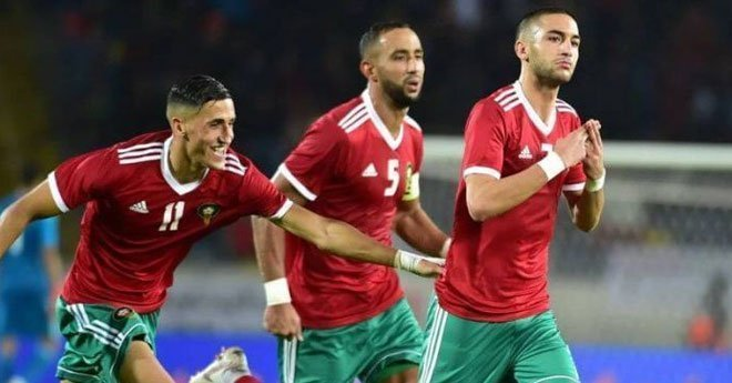 المنتخب المغربي يحسم رسميا تأهله لأمم أفريقيا 2019