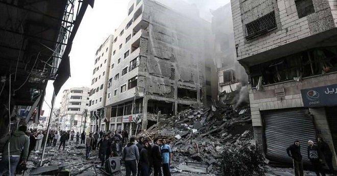 ارتفاع عدد ضحايا القصف الإسرائيلي على قطاع غزة إلى 11 شهيدا