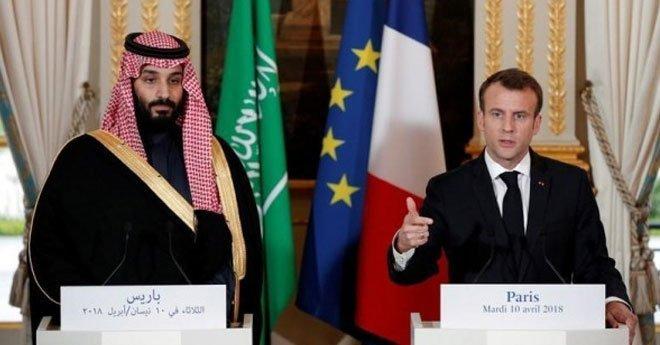فيديو ..ماكرون يدافع عن مبيعات الأسلحة للسعودية ويستضيف مؤتمرا بشأن اليمن