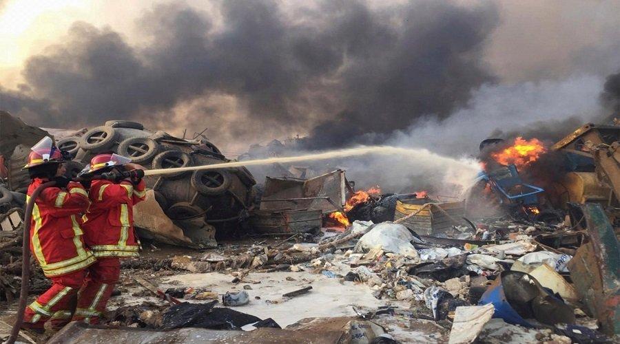 حصيلة انفجار بيروت تبلغ 113 قتيلا والرئيس عون يتوعّد بمحاسبة المسؤولين