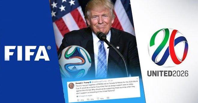 بعد تهديده للدول المساندة للمغرب.. الفيفا يرد على  ترامب