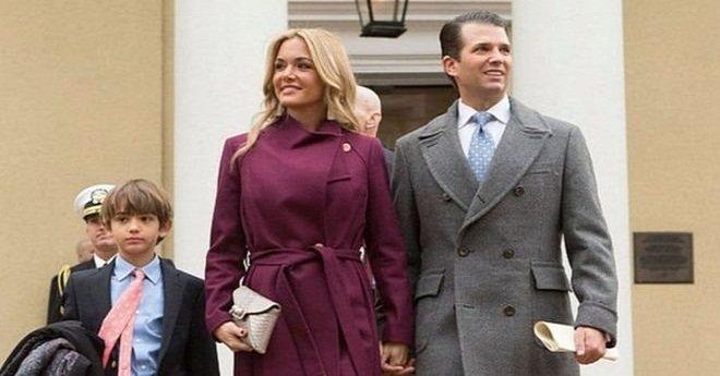 """زوجة نجل الرئيس الأمريكي """"ترامب"""" تطلب الطلاق أمام المحكمة"""