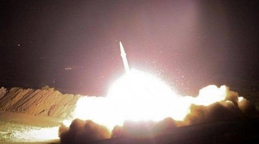 إيران تعلن مسؤوليتهاعن هجوم صاروخي على قاعدة عسكرية أمريكية