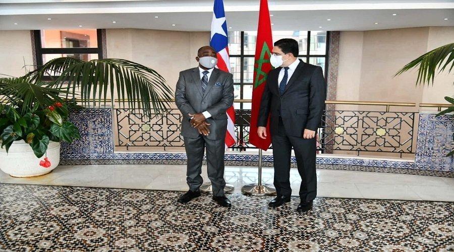 بوريطة ينوه بموقف ليبيريا حول قضية الصحراء المغربية