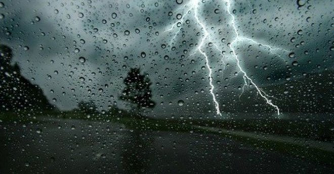 نشرة إنذارية .. رياح وأمطار قوية بهذه المناطق