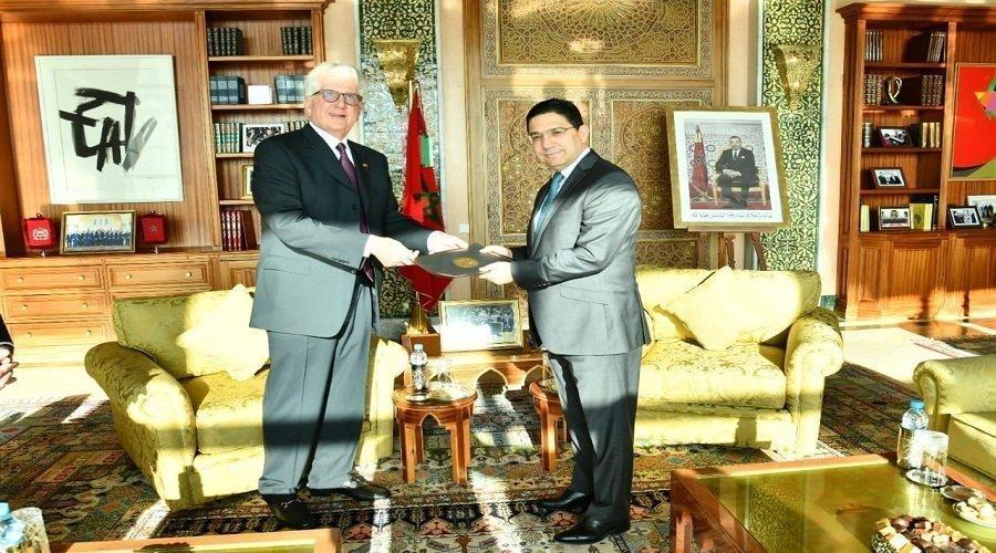 سفير أمريكا الجديد بالمغرب يقدم أوراق اعتماده