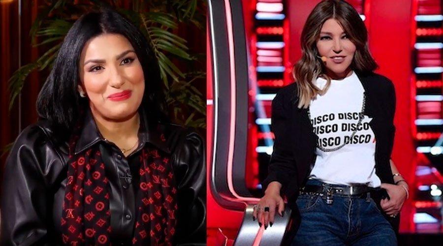 ليلى براق تكشف تفاصيل حديثها مع سميرة سعيد بعد the voice