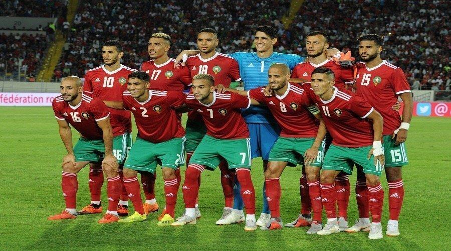 """المنتخب المغربي في التصنيف الأول لقرعة """"الكان"""""""