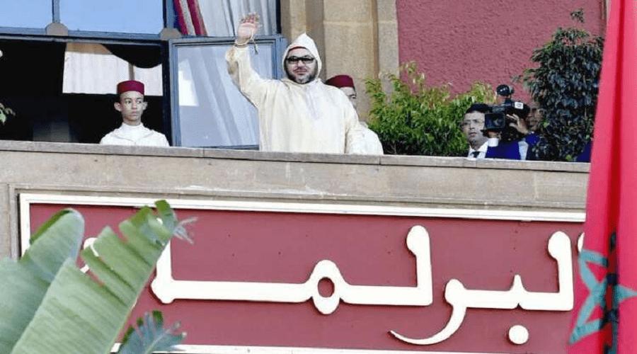 الملك يفتتح دورة البرلمان عن بعد