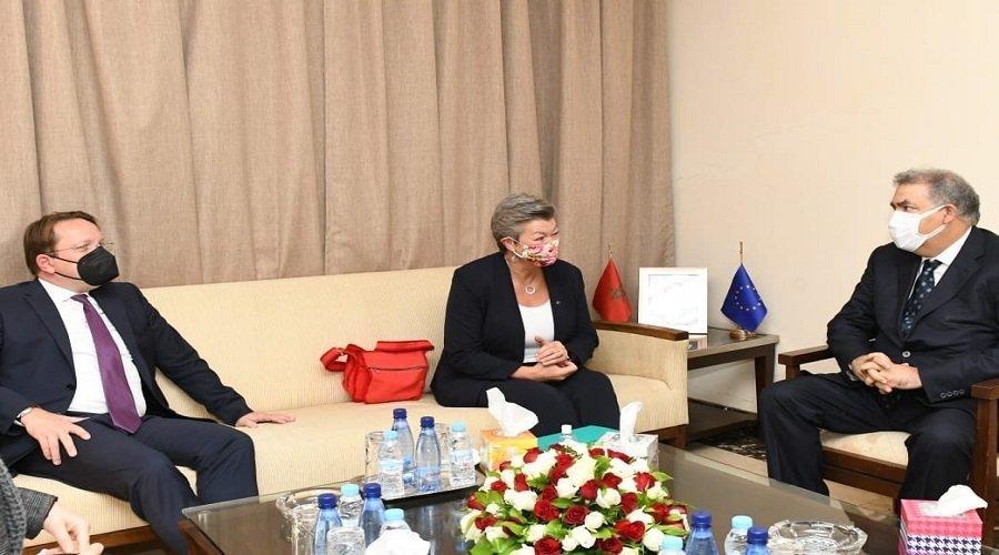 مفوضة أوروبية : المغرب شريك موثوق للغاية نسعى لمواصلة الشراكة معه