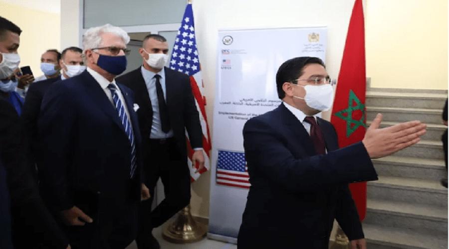 تفاصيل زيارة مقر القنصلية الأمريكية بالداخلة