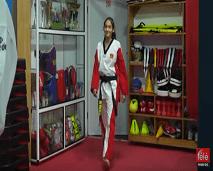 مقاتلون: اكتشفوا الحياة الخاصة لبطلة التايكواندو الواعدة هبة عوين