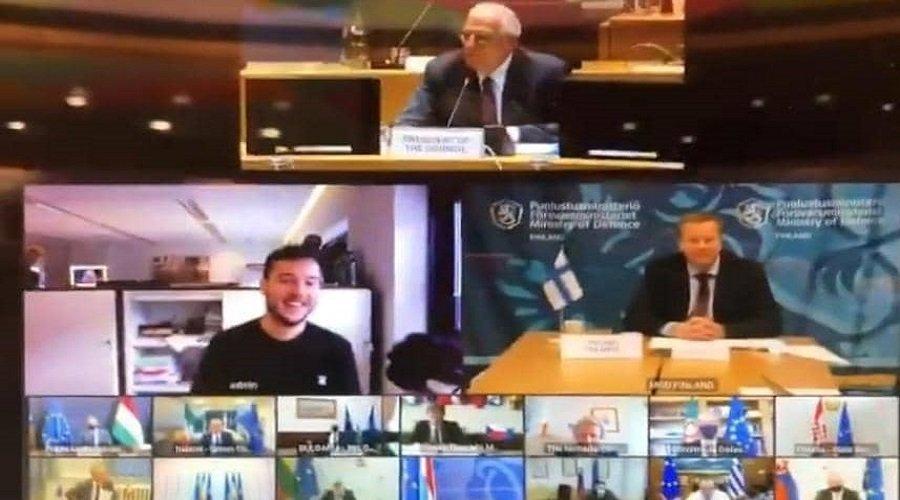صحفي يخترق اجتماعا سريا لوزراء دفاع الاتحاد الأوروبي