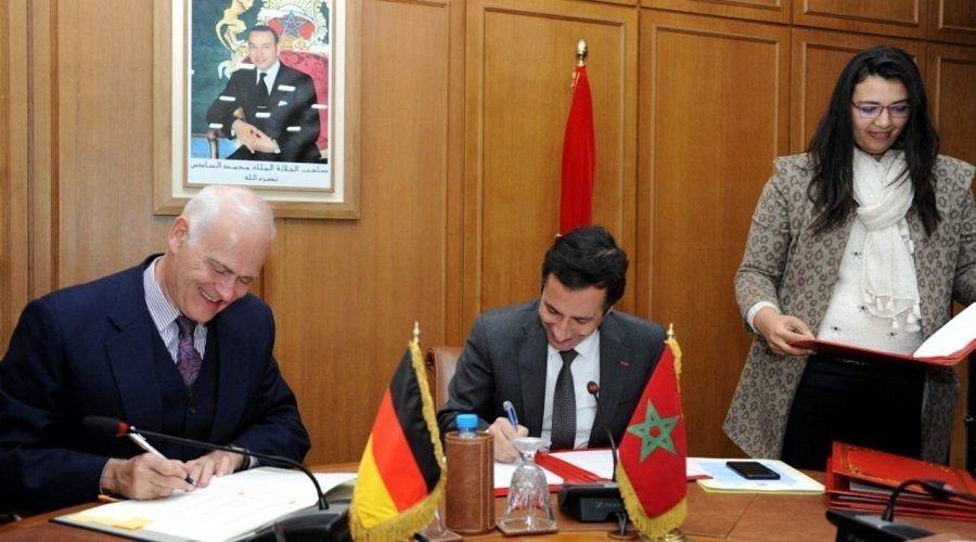 توقيع 3 اتفاقيات بين المغرب وألمانيا بقيمة 701.3 مليون أورو