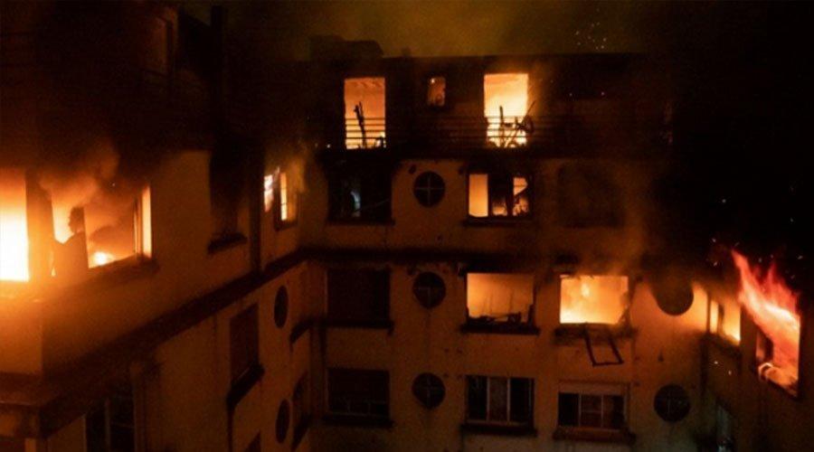 نقل جثمان الشابة المغربية التي قضت في حريق مبنى سكني بباريس نحو المغرب