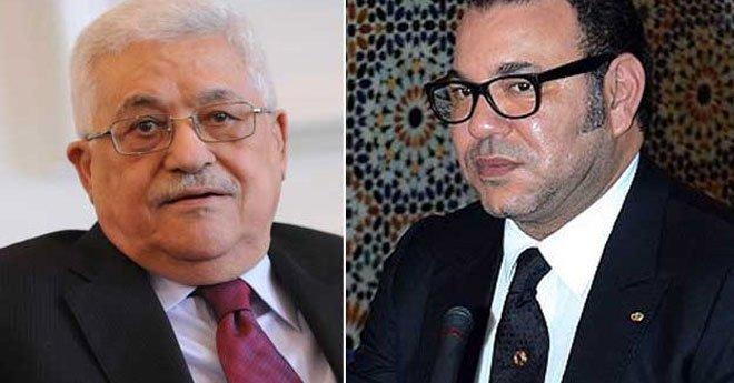 فيديو..مباحثات هاتفية بين الملك محمد السادس ورئيس دولة فلسطين