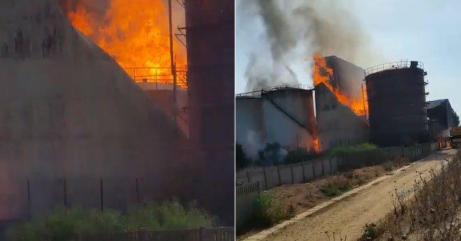 ثلاث وفيات بسبب حريق في معمل للكحوليات الغذائية ضواحي القنيطرة