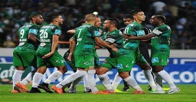 الرجاء يفوز على المغرب التطواني بثلاثية و يقترب من الصدارة