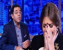هدى سعد تنهار من البكاء في عندي مايفيد وتكشف للعشابي سبب عدم تضامنها مع لمجرد