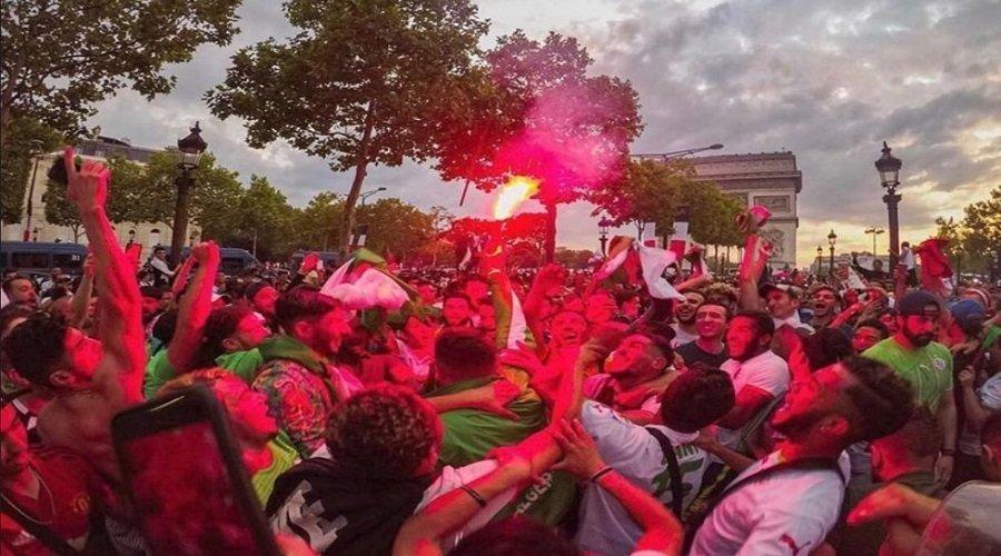 """الفرحة بتأهل الجزائر لنهائي """"الكان"""" تتسبب لـ 282 جزائري في الاعتقال بفرنسا"""
