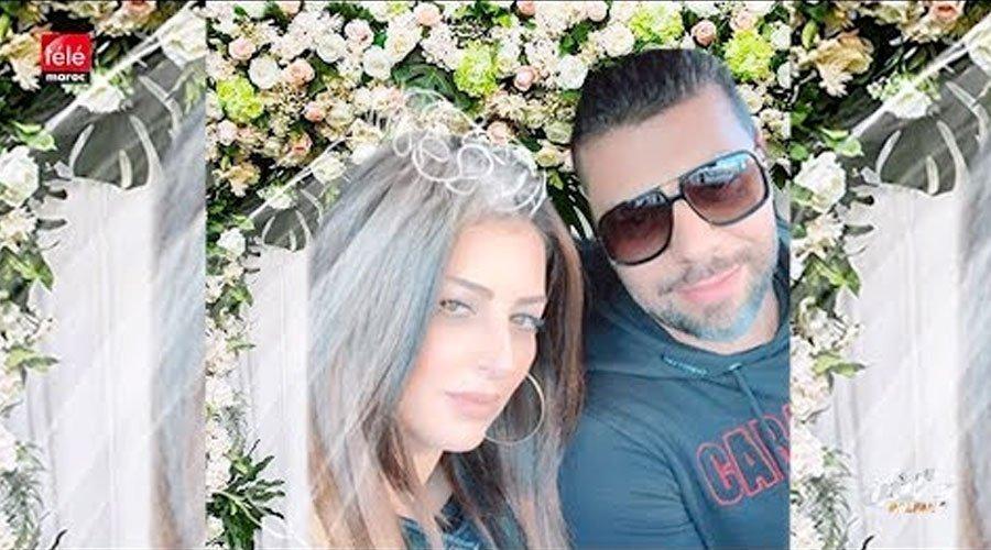 شاهد كيف أعلنت أمال صقر ومسلم عن زواجهما لأول مرة