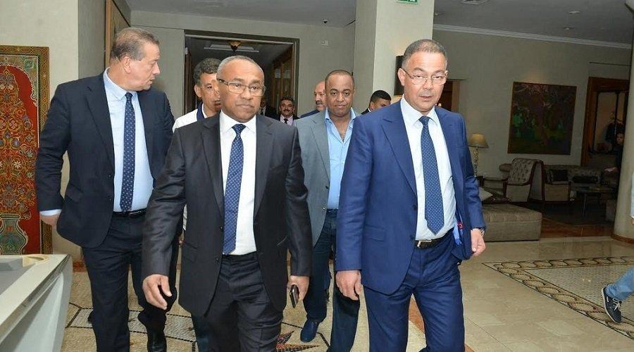 """قصص صراع المغرب مع رؤساء """"الكاف"""" في الكواليس"""
