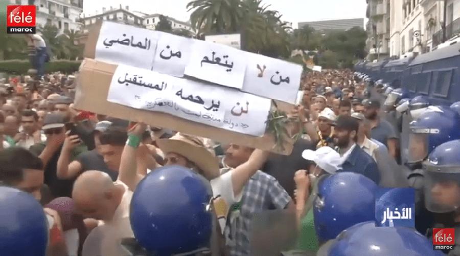 الجزائر: الطلاب الجزائريون يتظاهرون ضد الانتخابات المقررة آخر السنة