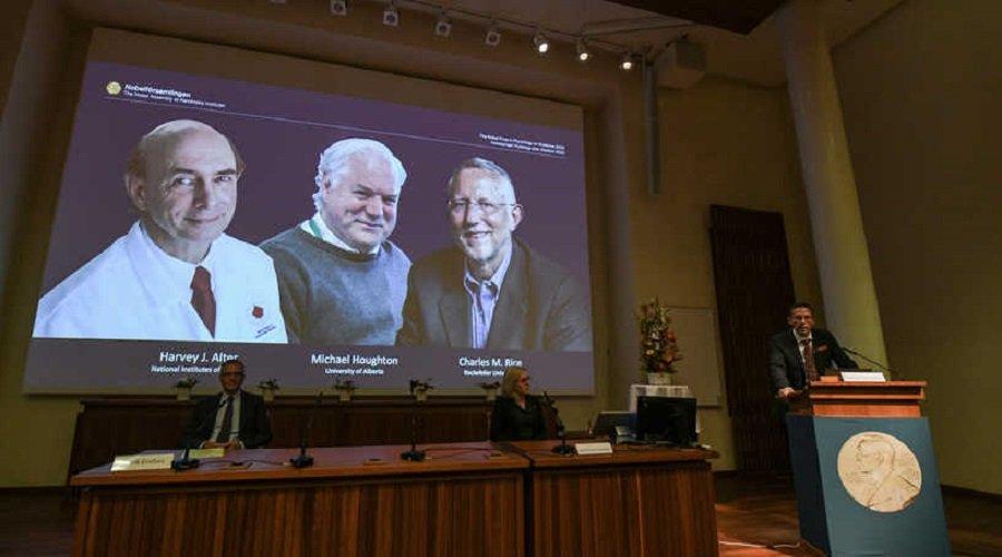 الكشف عن أسماء الفائزين بجائزة نوبل للطب
