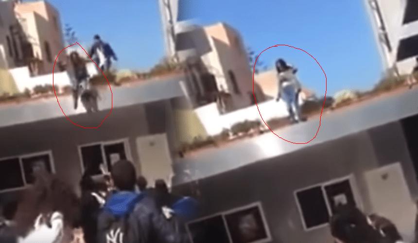 بالفيديو.. تلميذة تحاول الانتحار داخل مؤسسة تعليمية بالمحمدية
