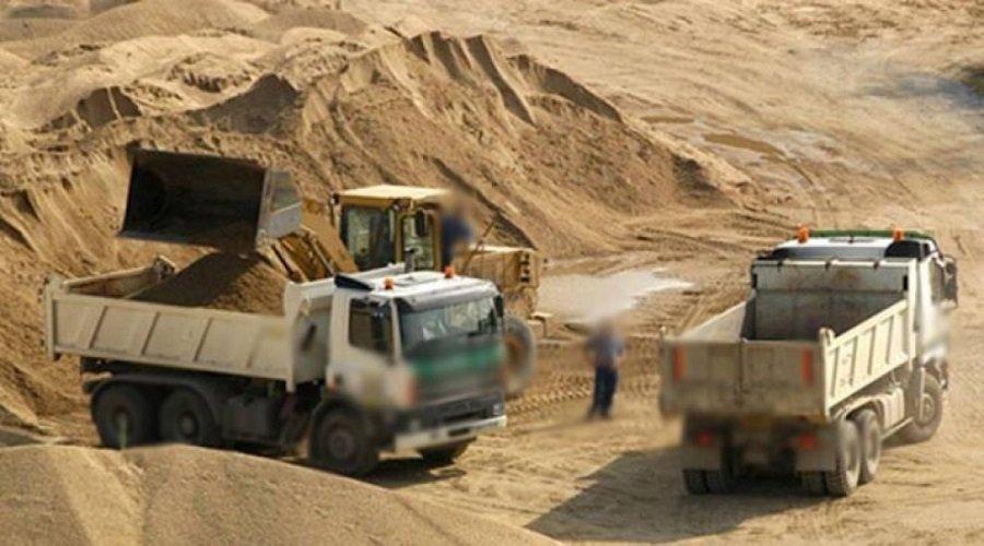 حجز أطنان من الرمال المسروقة بقيمة مليار سنتيم