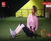 تمارين بسيطة لشد عضلات البطن