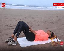 رياضة اليوم: حركات رياضية لشد عضلات البطن