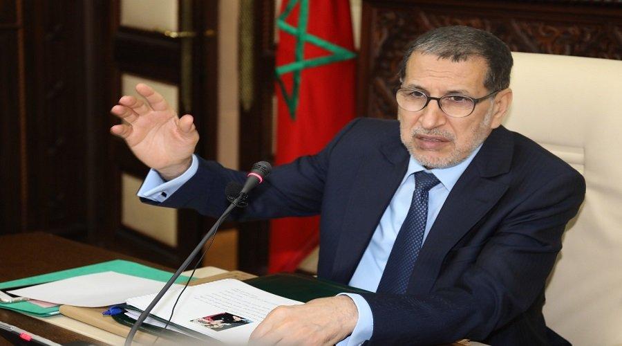 """الحكومة تتبرأ من تصريحات العثماني حول """"فتح الحدود مع الجزائر"""""""