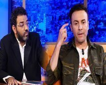 حاتم إيدار يهدد مراد العشابي في عندي مايفيد بسبب أدومة ويعتبره راجل ونص