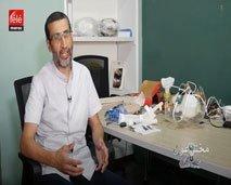 مخترعون: عبد العالي العمارتي مبتكر أصغر جهاز للتنفس الصناعي في المغرب