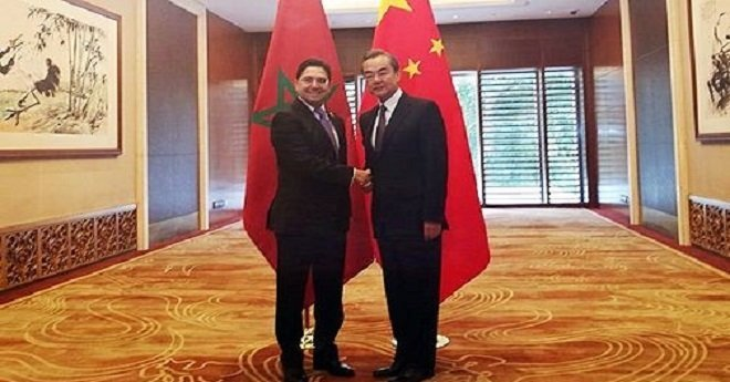 بوريطة يبحث مع نظيره الصيني متابعة تنفيذ الشراكة الاستراتيجية بين البلدين
