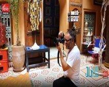 مسار الفنان المبدع حسن حجاج بين مراكش ولندن