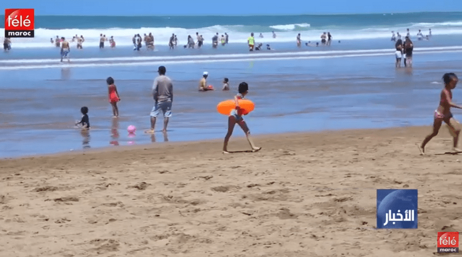 98 في المئة من مياه شواطئ المغرب مطابقة لمعايير الاستحمام