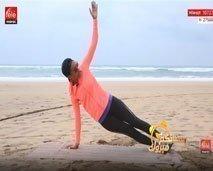 حركات منزلية بسيطة لتمرين الجسم